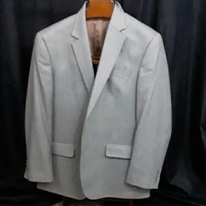 Izod Black/Gray Sports Coat